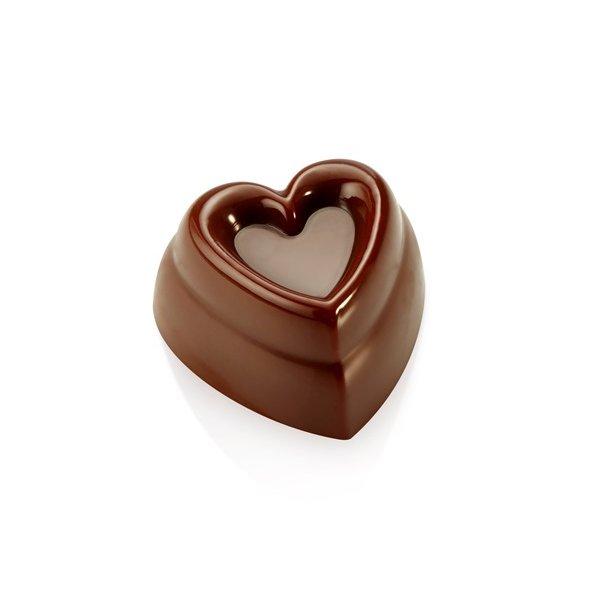 Innovativt hjerte chokoladeform