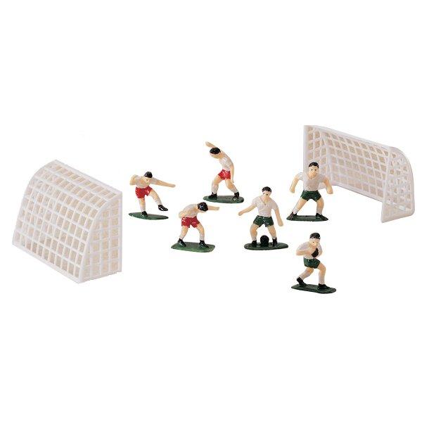 Fodbold figursæt i plast