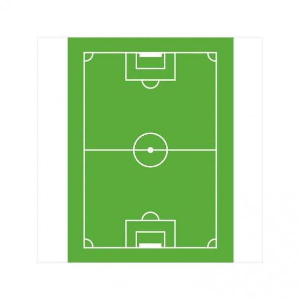 Fodboldbane kagetryk 20*30cm