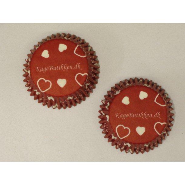 KageButikkens cupcake papirforme Maxi Røde