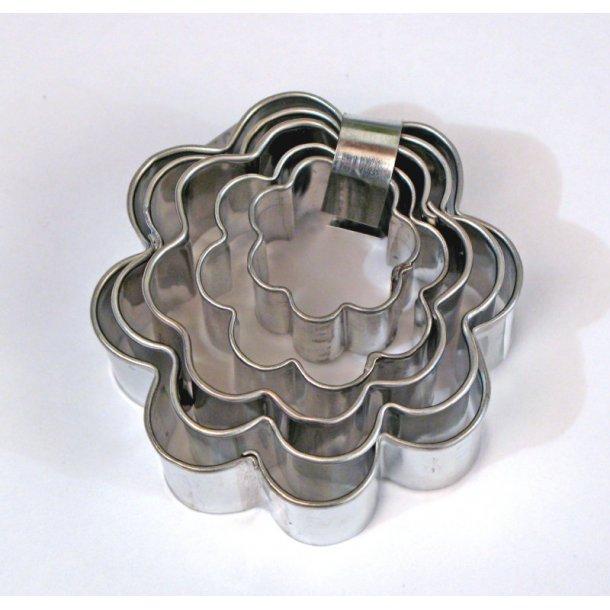 Blomster sæt 5 dele fra 2-6 cm
