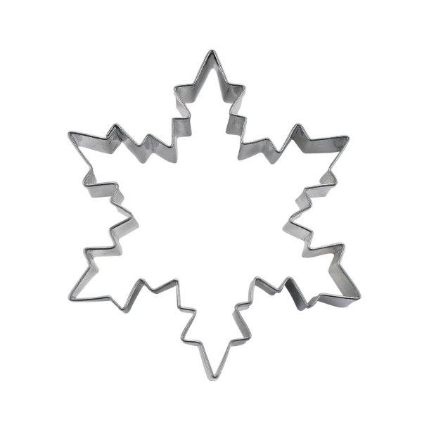 Iskrystal 6cm rustfrit stål