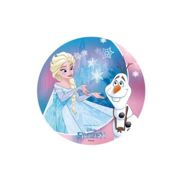 Frozen - Elsa og Olaf Ø21cm