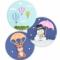 Luftballon udstikkersæt - 8 dele