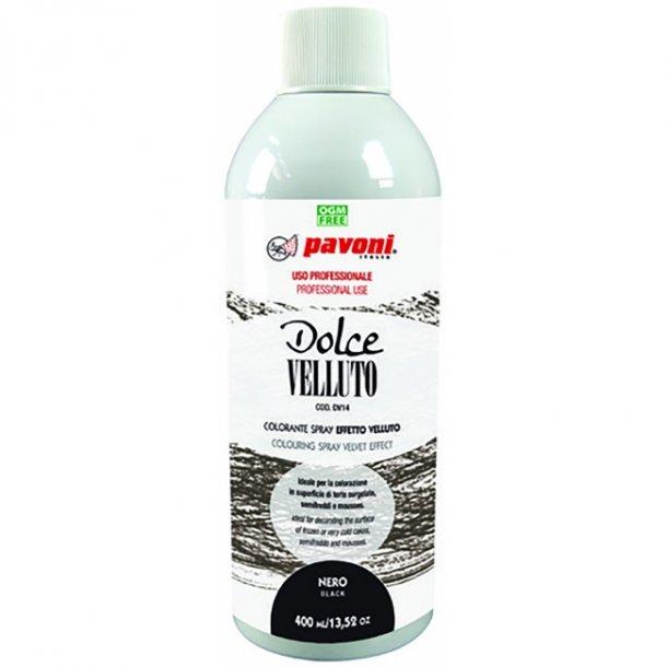 Sort Velvetspray 400 ml