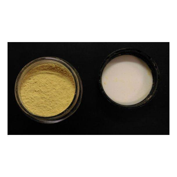 Citrongul fedtopløselig pulverfarve - 4g