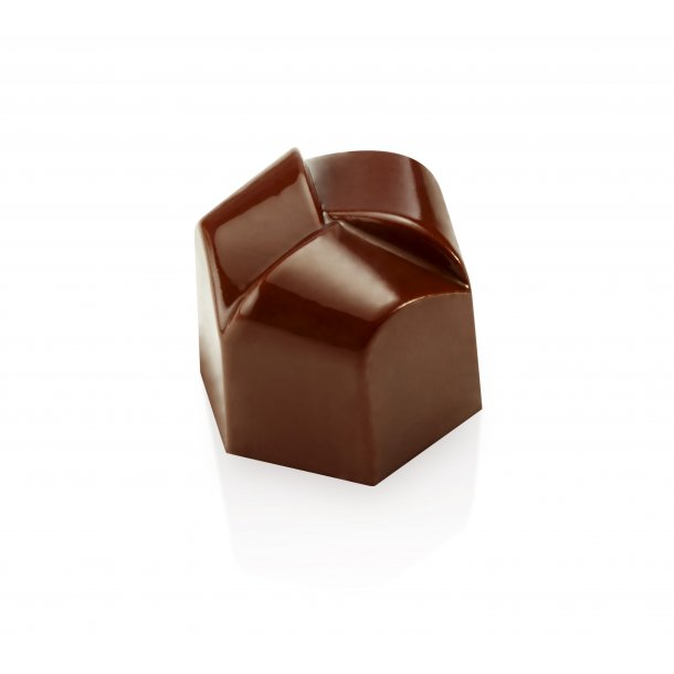 Rund flet chokoladeform