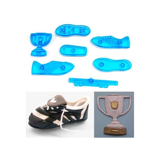 Fodbold støvle udstikkersæt