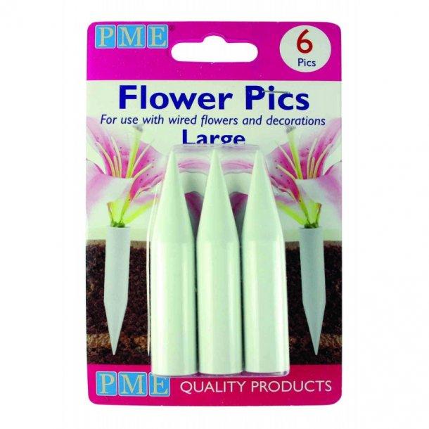 Flower pics - 6 stk.