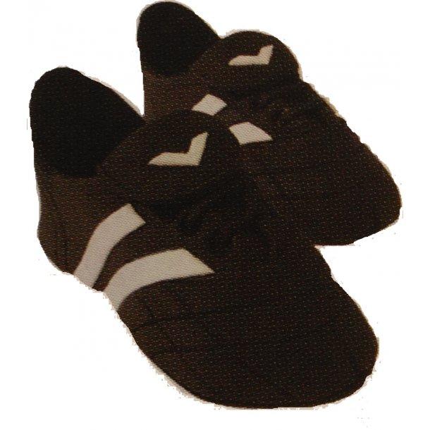 Håndlavede fodboldstøvler i fondant