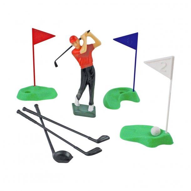 Golf figursæt 10 dele
