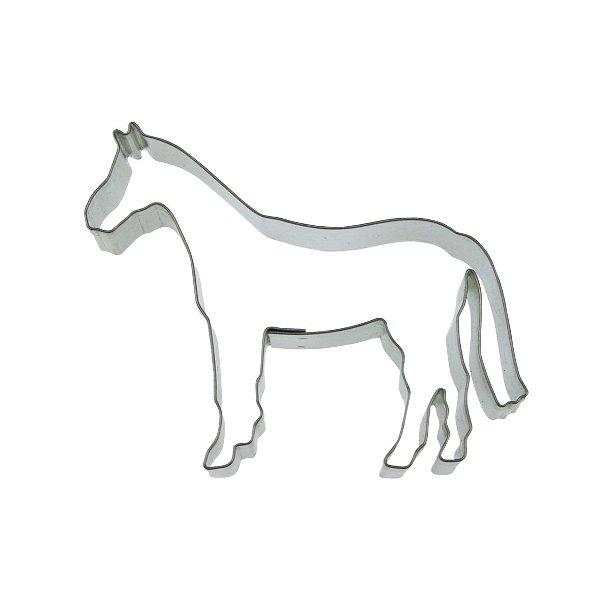 Hest 6 cm rustfrit stål