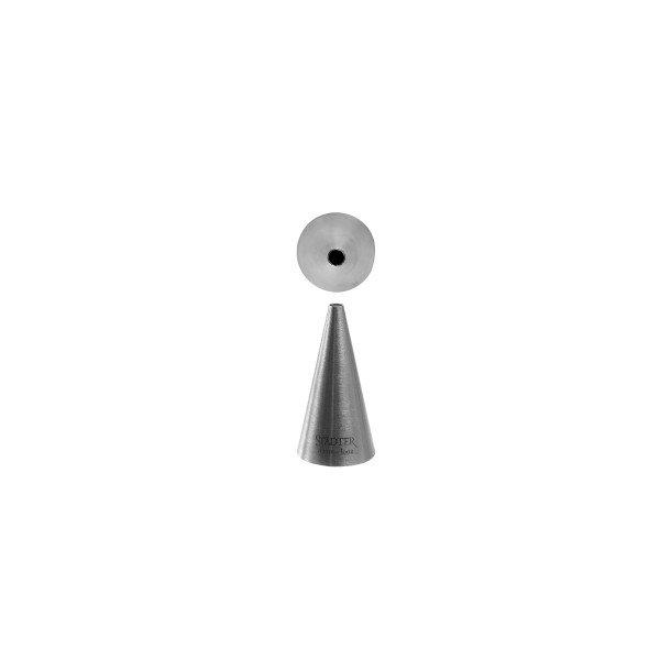Fine Line rund Ø 4 mm stor tyl i rustfrit stål