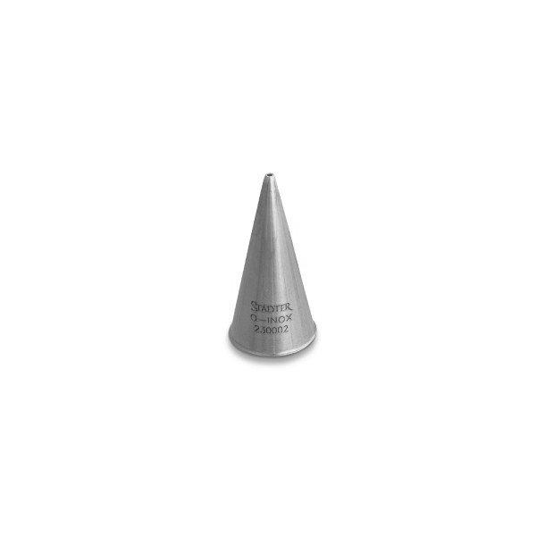 Fine Line rund Ø 4 mm lille tyl i rustfrit stål