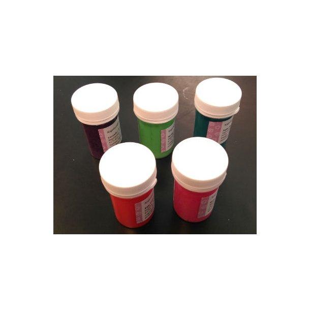 Startpakke med 5 pastafarver