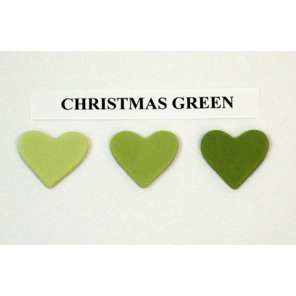 Christmas green pastafarve 25g