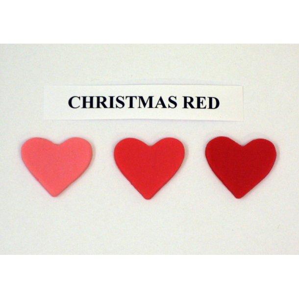 Christmas red pastafarve 25g