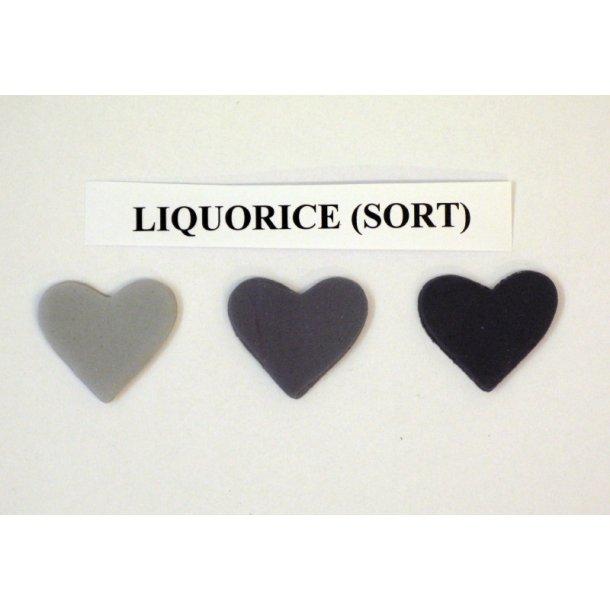 Liquorice (sort) pastafarve 25g