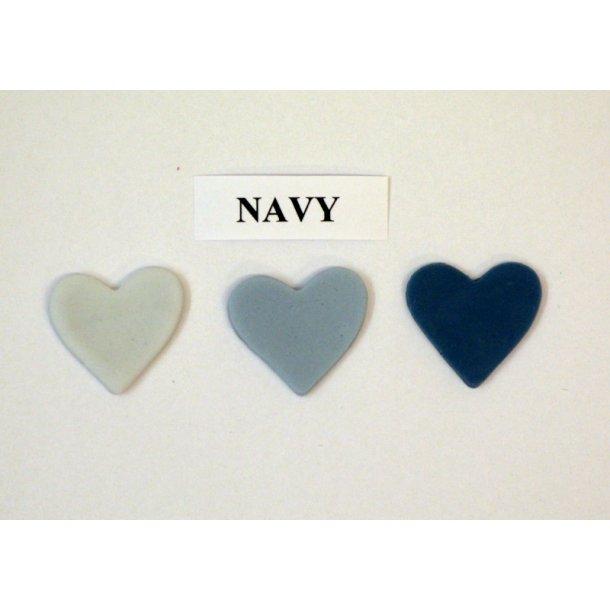 Navy pastafarve 25g