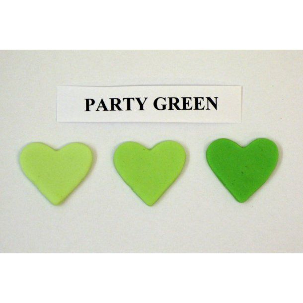 Party green pastafarve 25g